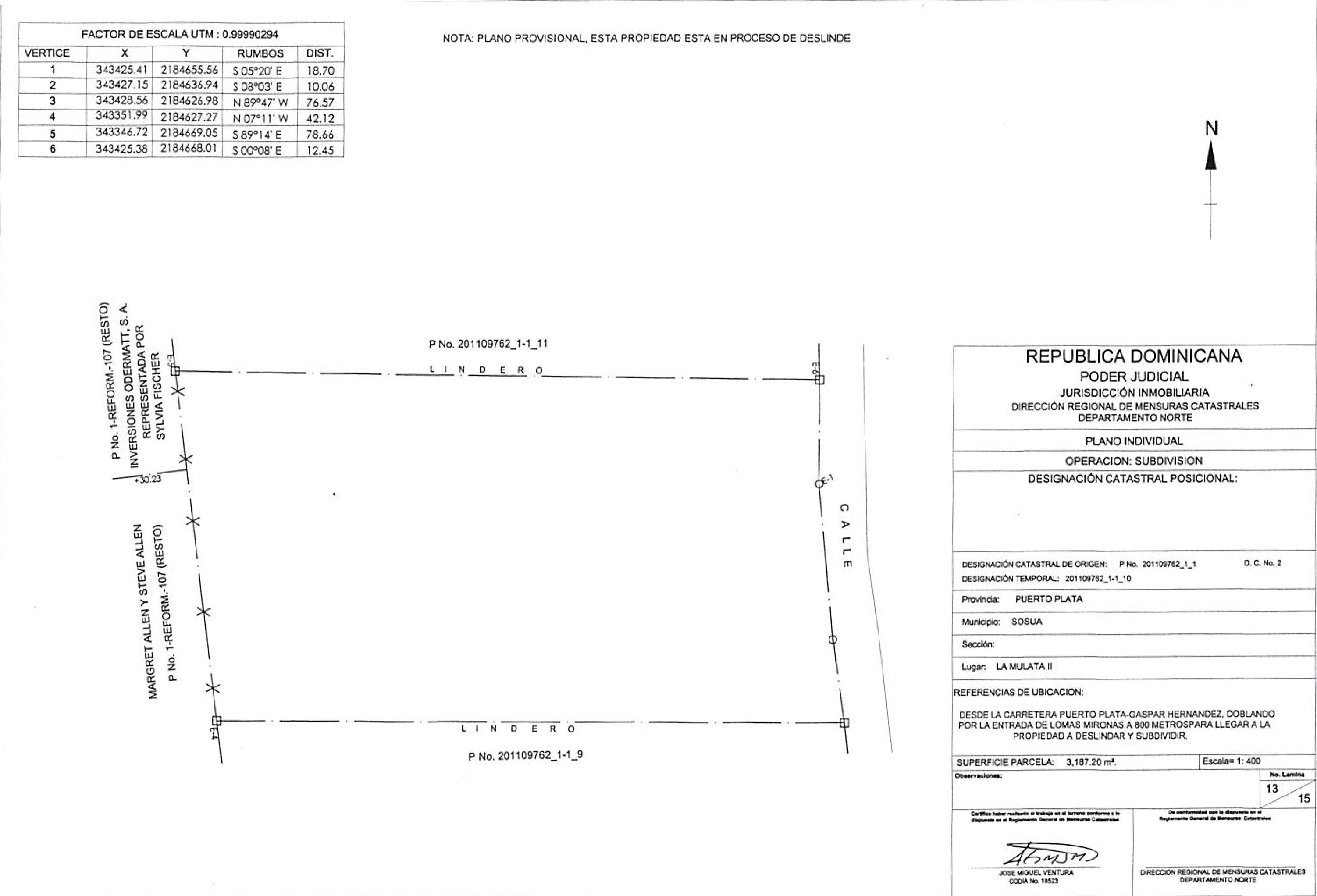 Grundstückplan